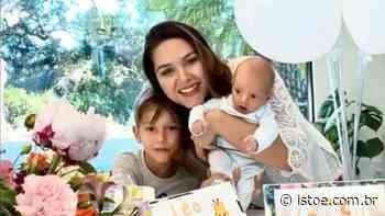 """Fernanda Machado celebra primeiro mês de Leo: """"Como se ainda fôssemos um só"""" - Istoe"""