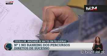 Conheça a escola Dr. Machado Matos, a nº1 no ranking de progessão dos alunos - TVI24
