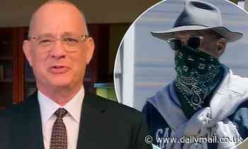 Tom Hanks says 'shame on you' to those refusing to wear mask or social distance during pandemic