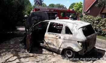 Feuerwehr Elsfleth: Fahrzeug brennt komplett aus - Nordwest-Zeitung
