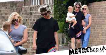 Billie Piper and Johnny Lloyd dote on daughter on family walk - Metro.co.uk