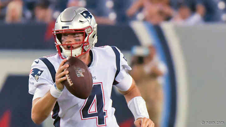 NESN Diary: What Cam Newton's Presence Means For Jarrett Stidham's Future (And Other Random Thoughts)