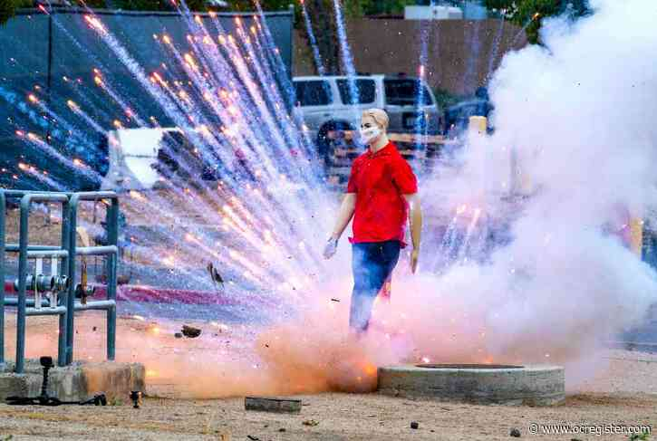 Officials caution Orange County residents to be aware of the dangers of fireworks