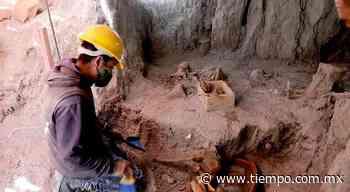Asi rescatarán a mamuts encontrados en Santa Lucía - El Tiempo de México