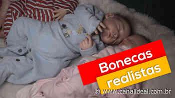 Moradora de Faxinal dos Guedes confecciona bonecas reborn, que parecem bebês de verdade - Canal Ideal