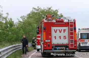 Arluno: scontro tra auto alla rotonda, una si ribalta. Giovane ferito finisce al pronto soccorso di Magenta | Ticino Notizie - Ticino Notizie