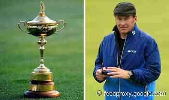 Former Europe captain Nick Faldo lets slip 2020 Ryder Cup has been CANCELLED