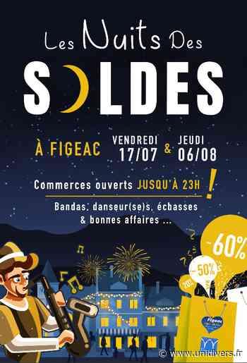 La Nuit des Soldes à Figeac vendredi 17 juillet 2020 - Unidivers