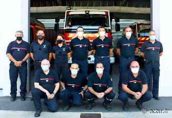 """Des pompiers du Lot suivent une formation """"Feux de forêt"""" à Figeac - Actu Lot"""