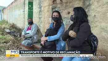 Coronavírus: passageiros em Esmeraldas reclamam de ônibus cheios e cortes em linhas - G1