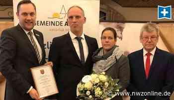 Apen: Neuer Vize tritt Mittwoch sein Amt an - Nordwest-Zeitung