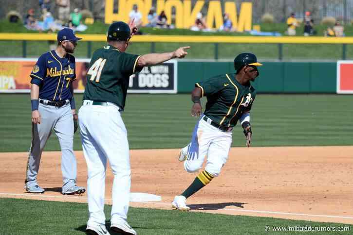 Athletics To Trade Jorge Mateo To Padres