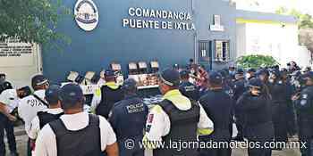 Puente de Ixtla se blindará con videovigilancia: alcalde - La Jornada Morelos