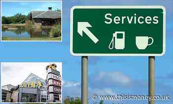 UK motorway services rated by food prices, facilities and cleanliness of toilets - This is Money