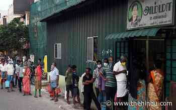 Amma Canteens to provide free food till July 5 - The Hindu