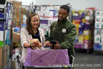 Tesco donates nearly three quarters of a million meals of surplus food in Somerset - Burnham-On-Sea