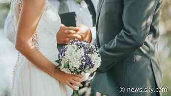 Coronavirus: No food, drinks or receptions - the new post-lockdown rules for weddings in England - Sky News
