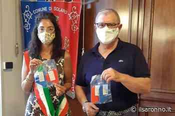 Solaro, mascherine rosse e blu per bimbi solaresi - ilSaronno