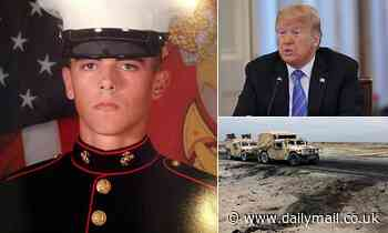 The Navy's father, who was killed in Afghanistan, says Trump knows nothing about Russian bounties