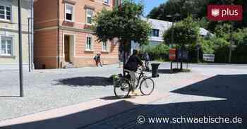 Parkplätze entfallen zugunsten der Barrierefreiheit - Schwäbische
