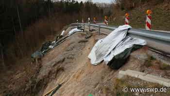 L1054 zwischen Oberrot und Rosengarten: Landesstraße soll noch dieses Jahr saniert werden - SWP