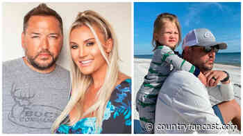 Jason Aldean's Son Blocks Dad from Brittany Kisses (Video) - Country Fancast
