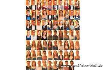 Abiturientia 2020 nimmt Abschied - Westfalen-Blatt
