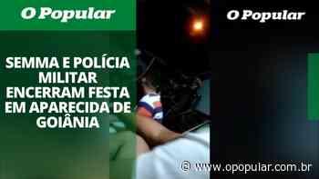 Festa encerrada pela PM e Semmas de Aparecida termina com multa para dono da casa - O Popular