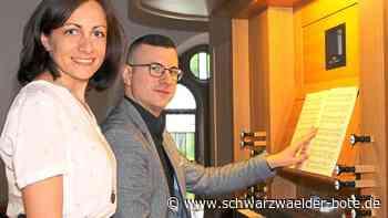 Schramberg - Zwei Kirchenmusiker ergänzen sich im Job-Sharing - Schwarzwälder Bote
