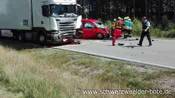 Dunningen/Schramberg - Tödlicher Unfall auf Bundesstraße 462 - Schwarzwälder Bote