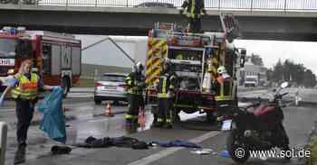 Biker bei Unfall in Kirkel schwer verletzt - sol.de