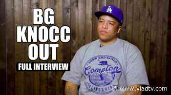 EXCLUSIVE: BG Knocc Out on Eazy-E, Ice Cube, Suge Knight, Willie D, George Floyd (Full) - VladTV
