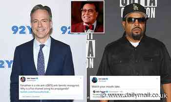 Ice Cube Tells Jake Tapper 'Watch Your Mouth' After He Slams Louis Farrakhan - Daily Mail