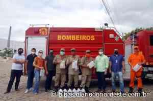 Bombeiros de Iguatu recebem doação de álcool do IFCE - Blogs Diário do Nordeste