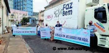 Araçatuba e Andradina recebem doação da JBS - Folha da Região