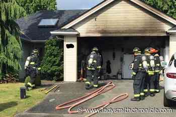 Vancouver Island homeowner douses blaze with garden hose - Ladysmith Chronicle