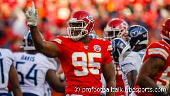 Chris Jones suggests he won't play without a long-term deal with Chiefs