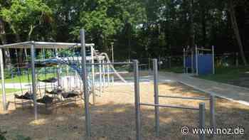 Neu gestalteter Spielplatz in Delmenhorst vor der Eröffnung - noz.de - Neue Osnabrücker Zeitung