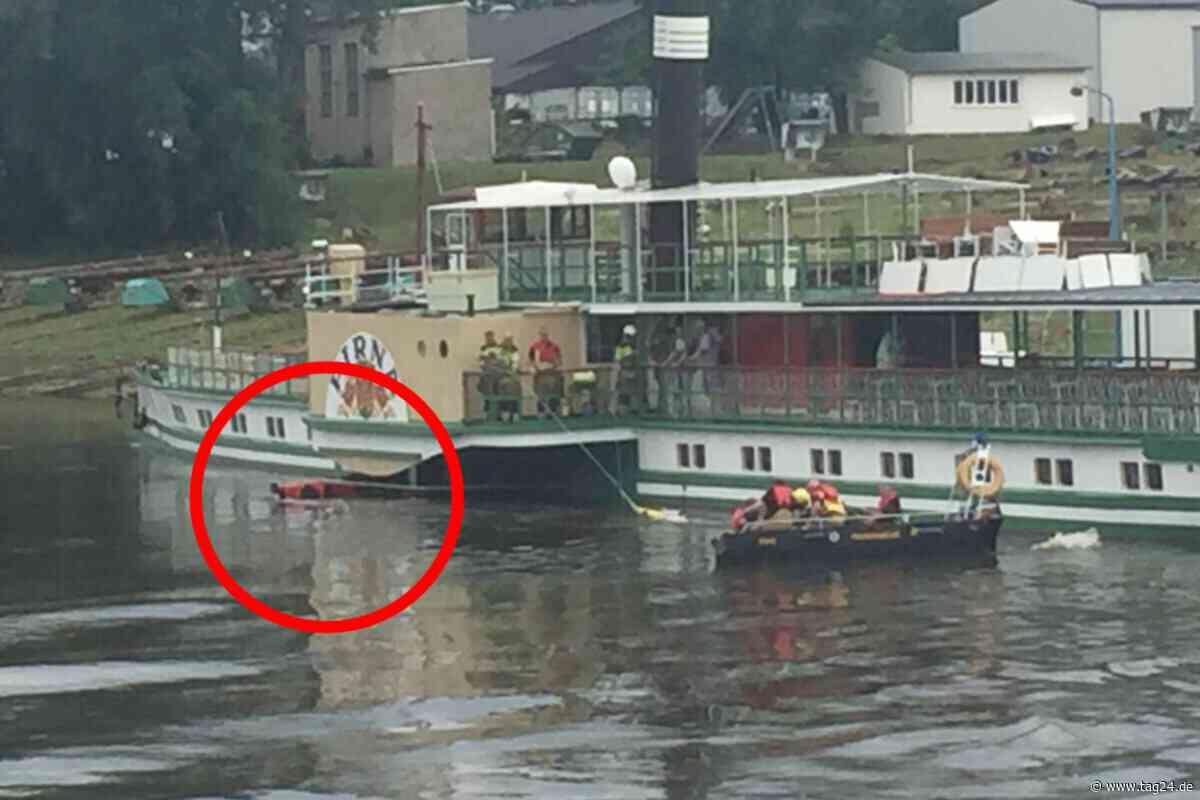 Kanu fährt in Schaufelrad eines Dampfers: Zwei Personen im Krankenhaus - TAG24