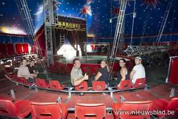 Clowns met gezichtsschermen en grote ventilatoren: circus Barones zet als eerste zijn tent weer open voor toeschouwers