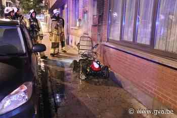 Drie jaar voorwaardelijk voor man die scootmobiel 'voor de grap' in brand stak - Gazet van Antwerpen