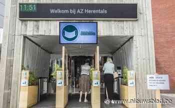 AZ Herentals laat familie patiënten volgen met track & trace-app - Het Nieuwsblad