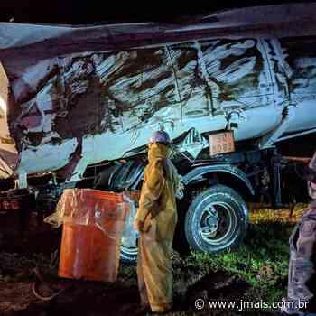 Acidente com carga de biodiesel não prejudicou rio Canoinhas - JMais