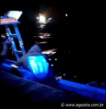 Pescadores de Itapemirim ficam à deriva e recebem ajuda de navio - A Gazeta ES