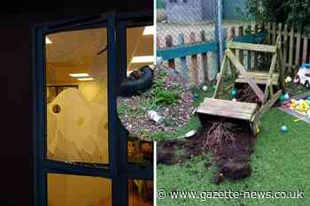 Nanna's Day Nursery in Greenstead wrecked by vandals