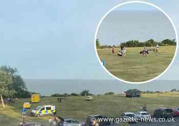 Fight on Frinton Greensward sees families flee seaside resort