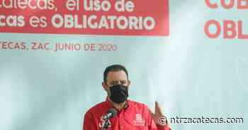 Zacatecas, de los estados que mejor ha afrontado la pandemia: Tello - NTR Zacatecas .com