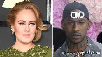 Herz-Emoji: Adele und Rapper Skepta flirten auf Social Media - Promiflash.de