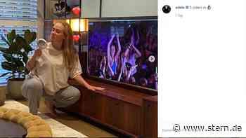 Adele postet Bilder aus der Corona-Quarantäne und antwortet Fan - STERN.de