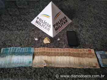 Traficante é preso no Centro de Coronel Fabriciano - Jornal Diário do Aço